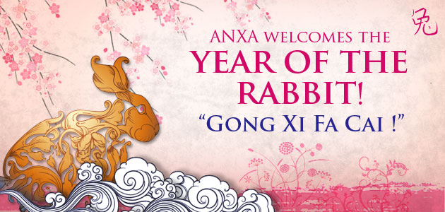 ANXA welcomes the year of the rabbit!