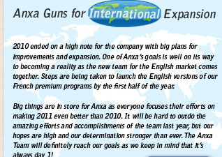 Anxa Guns for International Expansion