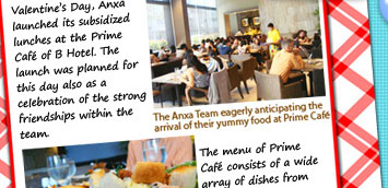 RHQ launches its subsidized lunch program at Prime Café, B Hotel