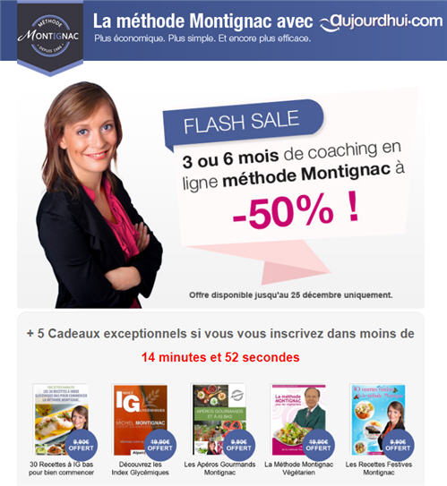 Black Friday Deals by La Methode Montignac