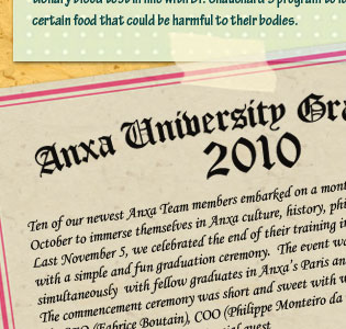 anxa university graduation