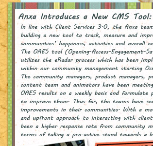 anxa introduces a new CMS tool: OAES