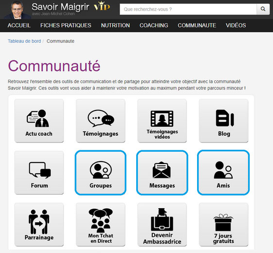 Savoir Maigrir Community Improvements  Powered by Anxa