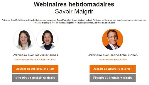 Webinars with Online Group Consultations now available on All Aujourdhui.com Programs